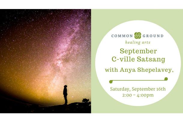 September Satsang with Anya Shepelavey